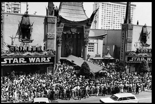 התיאטרון הסיני בשדרות הכוכבים ב-1977